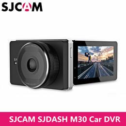 2019 видеокамеры на приборной панели SJCAM SJDASH M30 Sports Vehicle Dashboard Dash Cam Sports Camera WiFi Video Car DVR Full HD 1080P LCD Wireless WiFi 2.4GHz скидка видеокамеры на приборной панели