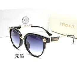 2019 nuovi occhiali da sole caldi per uomo e donna che guidano all'aperto; occhiali da sole alla modaVERSACEocchiali da sole 010 da