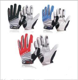 спортивные перчатки девушки Скидка Гигантский полный палец Велосипедные перчатки зима теплая Спорт на открытом воздухе цикл велосипед ветрозащитный полный палец рукавицы OOA2309