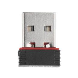 150 M USB placa de rede sem fio WiFi sinal transmissor / receptor de mesa WLAN Adaptador USB RTL8188 MT7601 supplier usb wifi transmitter receiver de Fornecedores de receptor do transmissor wifi usb