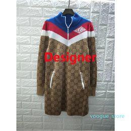 tissu vintage à imprimé floral Promotion Mode Jersey techniques Robes Laine soie multicolore Viscose femmes tricot T-shirt Manteau Outwear dames Long Street Wear Style vestimentaire
