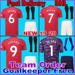 458612a79 New 19 20 POGBA LINGARD manchester soccer united jerseys utd 2019 2020  martial RASHFORD football kit MARTIAL jersey FRED shirt goalkeeper
