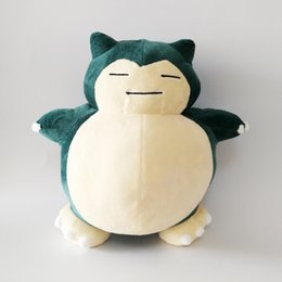 Caldo ! New Snorlax Pikachu Soft Doll Peluche per bambini Natale Halloween I migliori regali 11.8inch 30cm da