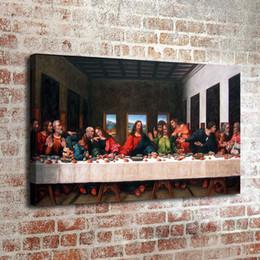 berühmte karikaturmalereien Rabatt Das letzte Abendmahl, Home Decor HD gedruckt moderne Kunst Malerei auf Leinwand (ungerahmt / gerahmt)