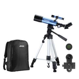 Изображение телескопа онлайн-Открытый Монокулярный Космический Астрономический Телескоп С Высоким Рюкзаком Для Штатива, Устанавливающим Телескоп Изображения Для Детей, Наблюдающих За Луной