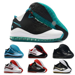 Basketball shoes king online-Nuovi Lebrons 7 2020 scarpe da basket pane fresco EQUALIT re Lightyear formatori Lebron scarpa da tennis 7s Sport dimensioni 7-12