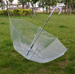 Filles danse clair parapluie Apollo cintré princesse transparente parapluie Mushrom bulle profonde dôme parapluie à long manche parapluies A42302 ? partir de fabricateur