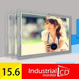av ports tv Promotion M156-OF / Surveillance CCTV Faismars Moniteur à cadre ouvert de 15,6 pouces avec interfaces VGA AV TV HDMI et port USB pour la lecture de données
