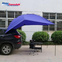 2019 car canopy Tampa 1pcs Universal Car Sun Shelter Camping Tenda Toldo Acessórios Suprimentos Waterproof Estacionamento 4-5 Pessoa Outdoor Galpão Canopy car canopy barato