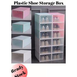 2019 заклинальные ящики Ящик для хранения Красочной сгущает пластик PP Галошница ящик пыленепроницаемом ящик для хранения Главного Простой обуви выдвижных ящиков