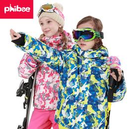 Russia -30 Degree Children winter clothes set windproof jackets+pant kids  winter snow suits girls outdoor warm ski suit d6bbaabca