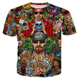 Los Pollos Hermanos Breaking Bad Walter White Men Women Unisexe T-shirt 2757