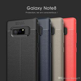 preise für samsung galaxy telefone Rabatt Fabrikpreis Stoßfestes weiches Leder Telefon Fall Abdeckung Schutz für Samsung Galaxy Note 8 9