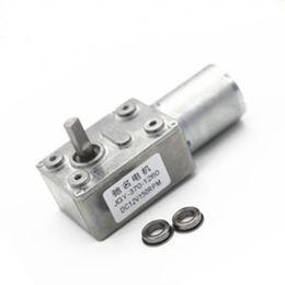 1PCS reversible drehmomentstarke Turbo-Schneckengetriebe DC12V Getriebemotor NEU