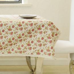 toalha de crochet quadrada Desconto Mais recente de Alto Grau Eco-friendly Adorável FloralTabela De Pano Clássico Side Desk Table Cover Decoração de Casa