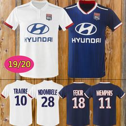 5d51eff6d 2018 2019 Olympique Lyonnais LYON MEMPHIS FEKIR MAILLOT DE PIED camisetas  thaïlande maillot de football de qualité kit maillot de football camiseta  futbol