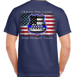 ab67d3cf14c Mens Metro Blue T-Shirt - Blue Lives Matter