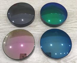 Substituição lentes para óculos de sol on-line-Lente óculos de sol espelho HD UV400 1.49polarized lente de substituição de prescrição de condução de pesca esportiva óculos de sol 0 --- -6.00 / 0 --- -2.00