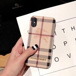 funda de coche de lujo iphone Rebajas Diseñador de lujo Funda para teléfono para iPhone X / XS XR XSMAX 6 / 6S 6P / 6SP 7/8 7Plus / 8Plus Estuche fresco con marca de moda Cartas con contraportada