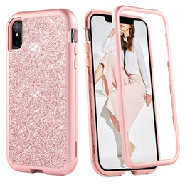 green body glitter Coupons - For Iphone Xs Max Case Luxury Women Bling Glitter Cover Heavy Duty Hybrid Full-Body Protective Cover Defender Case For iPhone XR XS Max