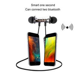 Aimant de basse en Ligne-Hot XT11 Aimant folâtrent des écouteurs sans fil BT4.2 écouteurs stéréo avec un casque micro basse écouteurs pour smartphones Samsung LG avec Retail Box