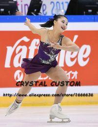 eislauf-marken Rabatt Maßgeschneiderte Mädchen Eiskunstlaufkleider Neue Marken-Eiskunstlaufkleider Für Wettbewerb DR4822