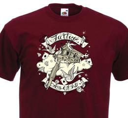 YES IT HURTS TATTOO MACHINES GIRLIE SHIRT Tätowiermaschine Tattoo Artist Shirt