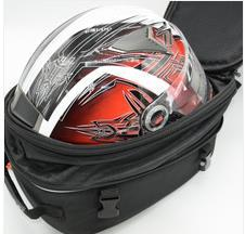 cubierta del asiento trasero yamaha Rebajas MT07 MT09 R3 R25 Bolsa de casco Motocicleta Alforja equipaje Equipaje Maleta Alrededor del asiento trasero Bolsa Cubierta impermeable para Yamaha MT-07 MT-09