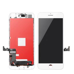 super schirm freies verschiffen Rabatt Hot LCD-Schirm-Anzeige für iPhone 6 6S 7 8 Plus-LCD-Bildschirm mit Touch-LCD-Digitizer Montage vollständiger Bildschirm Ersatz Grade A +++