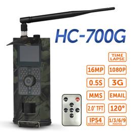 cámara gsm al aire libre Rebajas 16MP 1080P 3G SMS GSM Trail Cámara Caza Juego Cámara Al aire libre Vida silvestre Exploración Infrarrojo Visión nocturna Salvaje