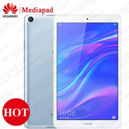 2019 carregador de tablet de polegada android Original huawei mediapad t5 8 polegada multi-touch honor 5 tablet tela de ajuste completo 5 v / 2a carregador octa core android 9 bluetooth carregador de tablet de polegada android barato