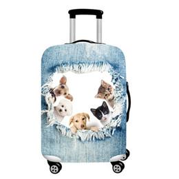 fivelas de coleira de cachorro de metal atacado Desconto Tampa da mala de viagem Anti Scratch Zíper de Poliéster Fechamento de Viagem Alta Elasticidade Fácil de Aplicar Acessórios Laváveis Universal À Prova de Poeira