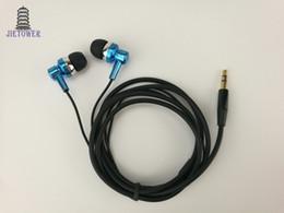 Ecouteurs a fil epais offre directe d'usine a partir d'ecouteurs en gros pas cher dorure bleu dorure pour iPhone CP-12 500pcs ? partir de fabricateur