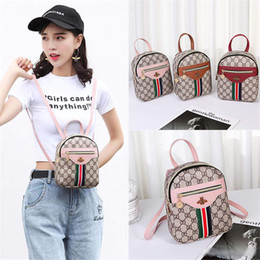 mini zaino 2019 versione di modo di tendenza Designer coreana del nuovo di spalla casuale piccola borsa semplice spalla femminile del sacchetto Messenger bag da