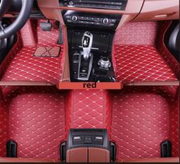 2019 modelos de chispa Para Para Audi A3 2008-2017 Tapete antideslizante Tapete interior de PU Costura Todo rodeado de tapete no tóxico ecológico