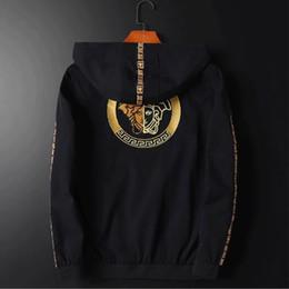 giacca impermeabile impermeabile traspirante delle signore Sconti Versace traspirante confortevole giacca casual giacca sottile V5001 trasporto libero nuovi uomini di modo
