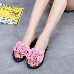 f0f14de66361 SAGACE Shoes Flip flops Women Flower Summer Sandals Slipper Indoor Outdoor  Beach Shoes casual shoes women 2018MA11