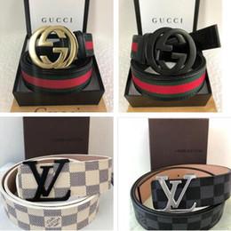 Incluindo caixa Original cintos de grife cintos de luxo para homens grande fivela cinto top fashion mens cintos de couro por atacado frete grátis de