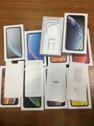 20 stücke großhandel US EU UK Version Für iPhone XR XS MAX Leere Telefon Paket Verpackung Box Fall Ohne Zubehör phone box protectors von Fabrikanten