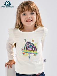 kinder kräuselten t-shirts Rabatt Mini Balabala scherzt Mädchen gekräuselte grafische Oberteile T-Shirts Hemden T-Stücke lange Hülsen Kinderkleinkind-Mädchen-Herbst-Kleidungs-Kleidung