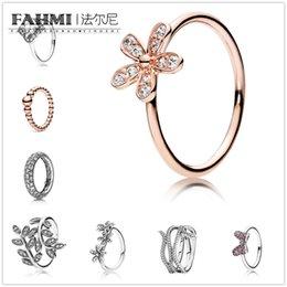 2019 anéis de rocha escalando FAHMI 100% 925 Sterling Silver Christmas Inverno Anel Original Moda Ms. Wedding Jóias frete grátis