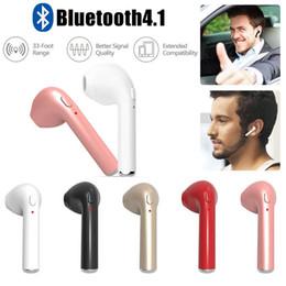 HBQ-I7 Écouteurs sans fil Bluetooth à oreille unique Smartphone Écouteurs intra-auriculaires stéréo sans fil Bluetooth pour tout téléphone intelligent ? partir de fabricateur
