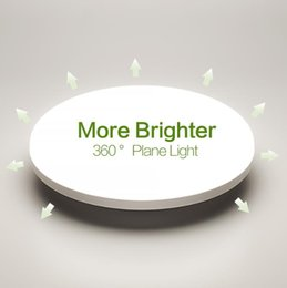 panneaux de plafond en grille Promotion Place panneau LED 18W 24W 36W 48W ronde Downlight AC85-265V LED Surface lampe de plafond pour la cuisine d'éclairage