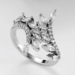 2019 cristais em forma de pêra Gota de diamante Em Forma de Pêra Anel de Noivado Senhora S925 Anillos De Prata Bague Etoile Jóias para As Mulheres Anéis de Cristal Bizuteria 2019 cristais em forma de pêra barato