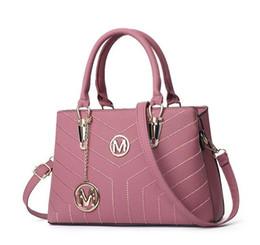 2019 mehrfarbige leder patchwork handtasche Großhandel Mode Handtasche Handtaschen Frauen Taschen Designer Handtaschen Brieftaschen für Frauen LeatherBag Crossbody Umhängetaschen # MK