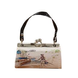 loja de telefone nova Desconto JUILE Moda impressão Mulheres Handbag designer ladys selvagem pequeno saco quadrado bolsa Nova menina da juventude shopping bolsa simples telefone saco