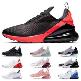nike air max 270 corsa per gli uomini delle donne triple nero bianco hanno un giorno South Beach Throwback Future Hot Punch sport sneakers scarpe da