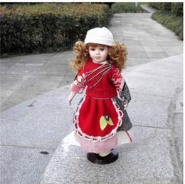 bonecas congeladas congeladas Desconto Bonecos de simulação em cerâmica estilo Europeu artesanato casa Mengwa menina caráter russo congelado casamento boneca rainha