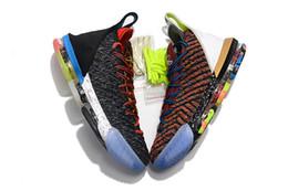 separation shoes f43fb 3e43b quoi le lebron 16 XVI chaussures de basket-ball à vendre des fleurs MVP  Noël BHM Oreo jeunes enfants génération baskets bottes avec boîte expédition