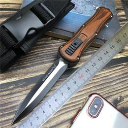Taktik bıçak Bahar Yardımlı bıçaklar Askeri Sabit Bıçak Çift Kenar Savaş Survival Bıçaklar Havacılık Ahşap kolu nereden